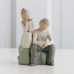 Willow Tree Brother and Sister figurine from The Posie Shoppe in Prineville, OR