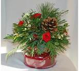 Christmas Tyler Candle bouquet from The Posie Shoppe in Prineville, OR
