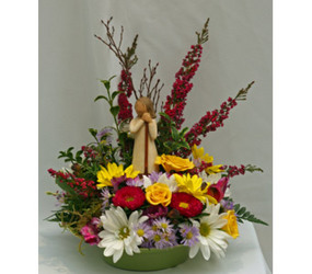 Angel in the Garden bouquet from The Posie Shoppe in Prineville, OR