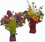 Burst of color bouquet from The Posie Shoppe in Prineville, OR