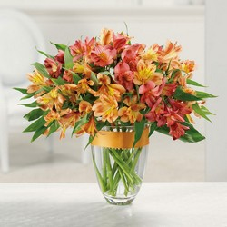 Awesome alstroemeria bouquet from The Posie Shoppe in Prineville, OR