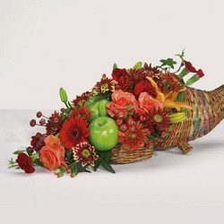 Cornucopia Garden bouquet from The Posie Shoppe in Prineville, OR