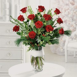 Twelve days of roses from The Posie Shoppe in Prineville, OR