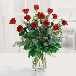The perfect dozen roses from The Posie Shoppe in Prineville, OR