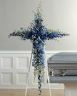 Blue delphinium cross from The Posie Shoppe in Prineville, OR