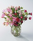 Pink vased arrangement from The Posie Shoppe in Prineville, OR