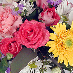 Design your own vased arrangement from The Posie Shoppe in Prineville, OR